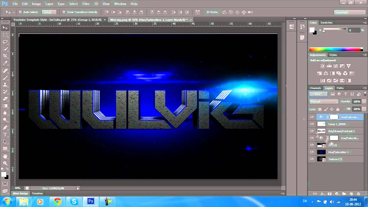 Download Speed Art #2 | Wulvig | By ImTaXx