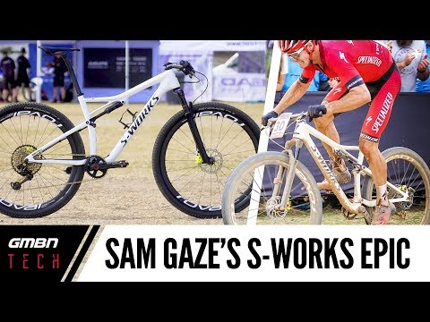 Sam Gaze's World Cup Winning S-Works Epic | GMBN Tech Pro Bikes