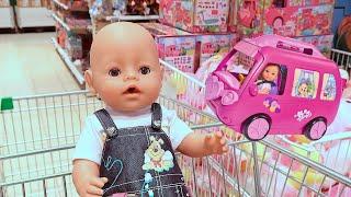 КАК МАМА И БЕБИ БОН ПОКУПАЛИ ПОДАРОК В МАГАЗИНЕ Мультик Для детей Играем в Куклы 108мама тв