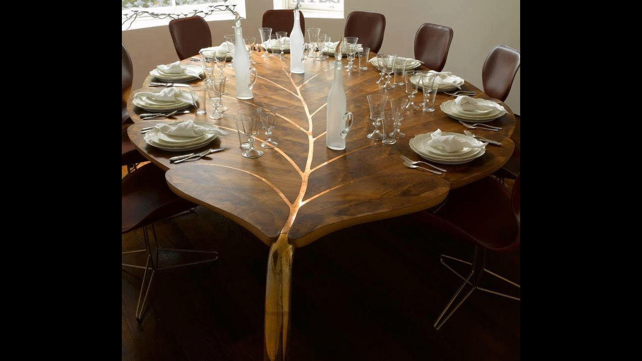 wooden dining table designs modern youtube: chair dining room tables rustic chairs
