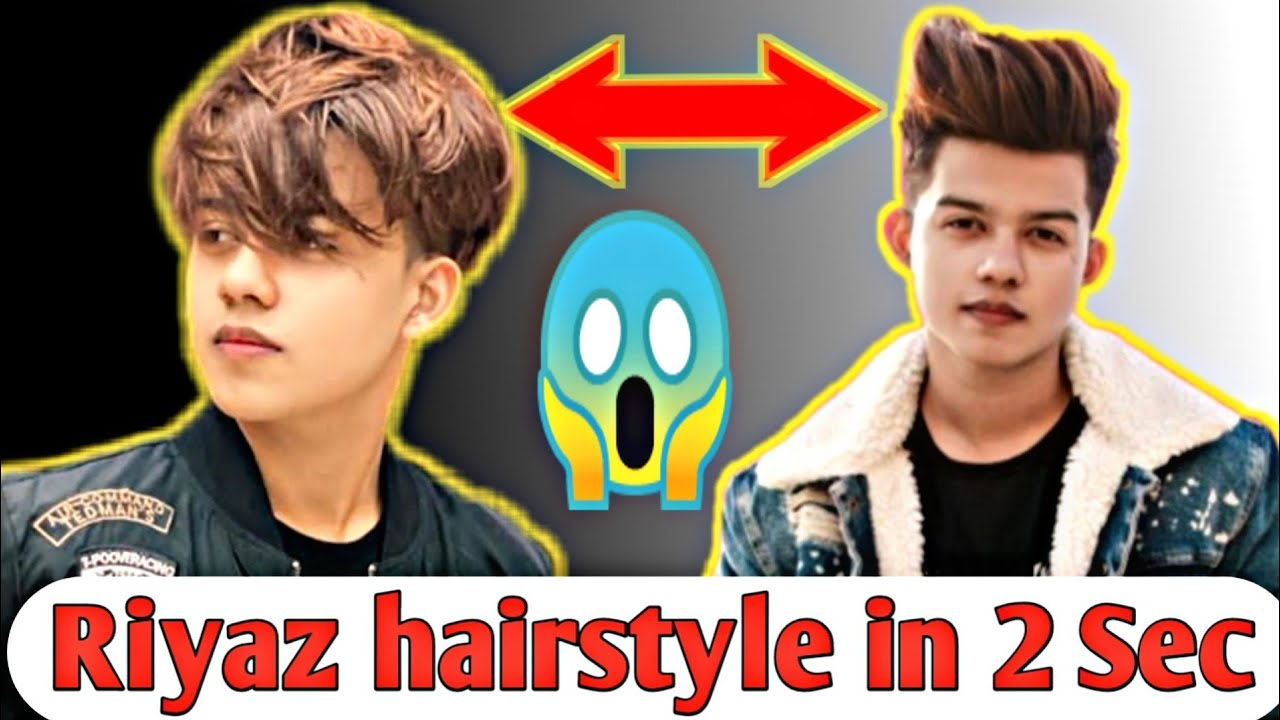how to Riyaz Haircut style  Riyaz hairstyles  Riyaz tiktok - YouTube