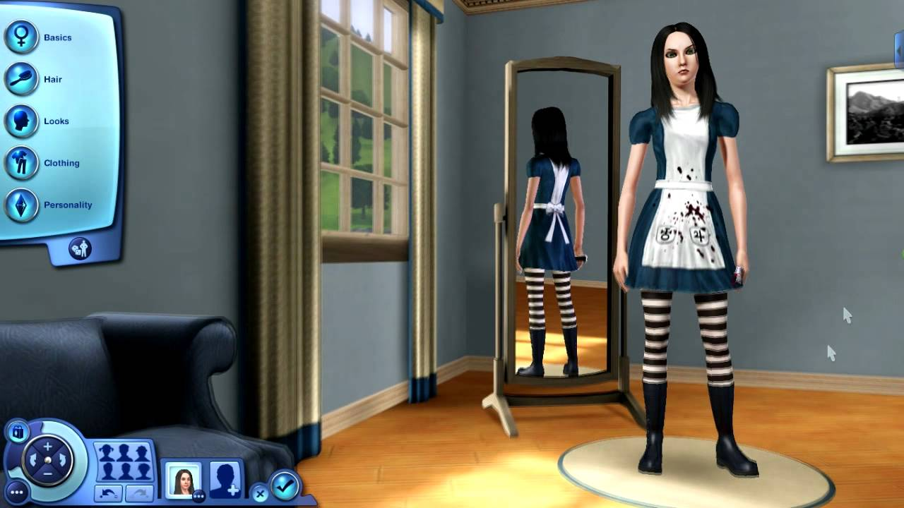 Alice madness returns in the sims 3 mods youtube for Www the house com returns