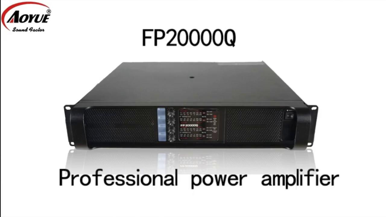 lab gruppen power amplifier fp20000q youtube