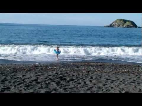 Пляж Черный песок Mpg