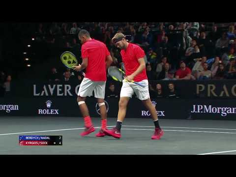 Laver Cup: Nick Kyrgios and Jack Sock best Rafael Nadal and Thomas Berdych