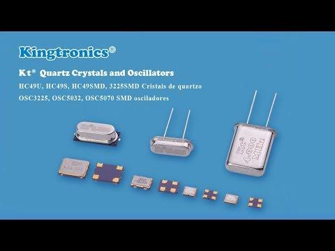 Kt Kingtronics Factory of Quartz Crystals and Oscillators