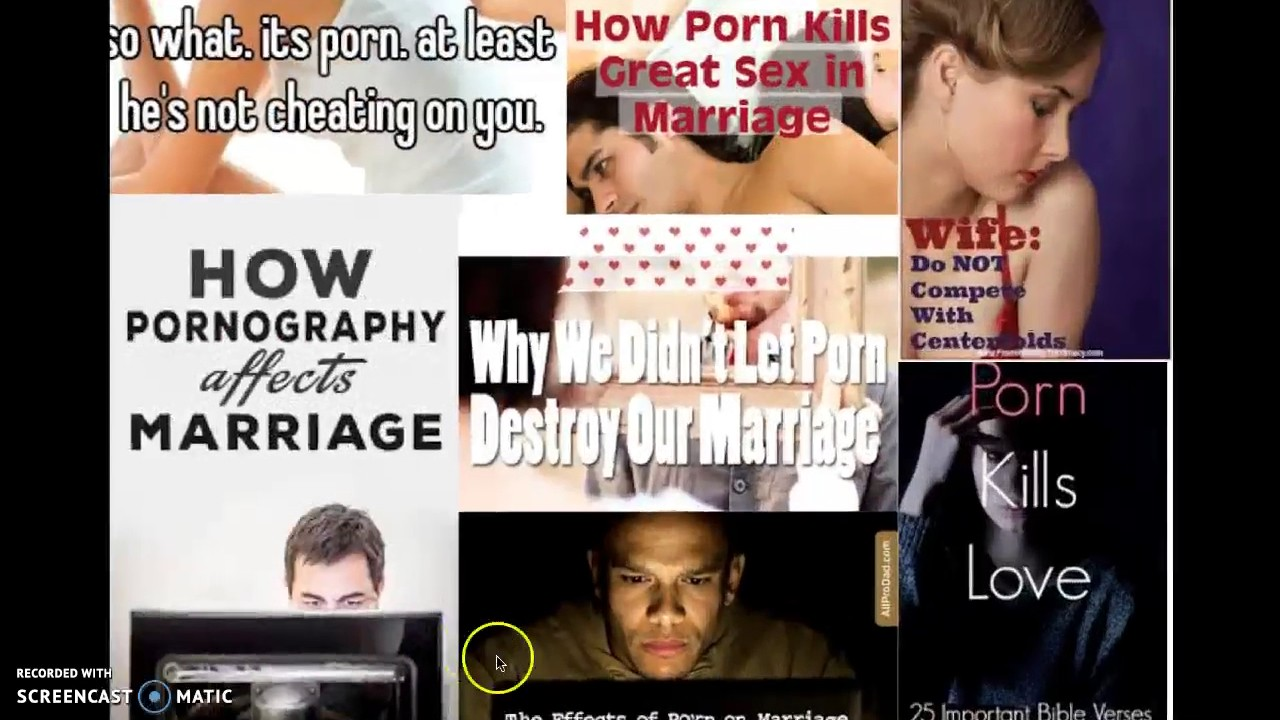 Effects of pornography on marriage