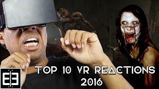 Top 10 VR Reactions 2016 - Funniest VR Reaction Compilation - Samsung Gear VR