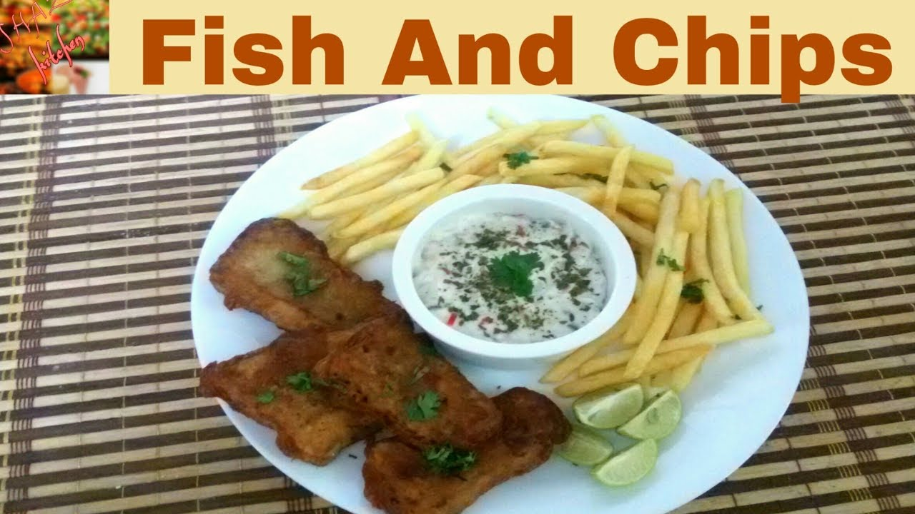 Fish and chips authentic recipe in urdu hindi how to make for How to make fish and chips