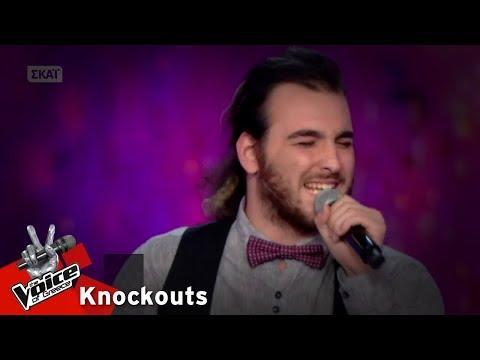 Στέλιος Ψαρογιάννης  - Hey you   1o Knockout   The Voice of Greece