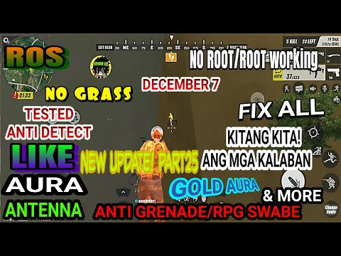 Ros New Safe Cheat RulesofSurvival Mobile My PART25 Screen Recording(Philippines)
