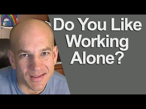 Best answer: Do you like working alone or with others?