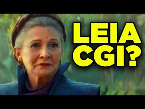 Rise Of Skywalker LEIA Explained! VFX Analysis & Final Scene Breakdown!