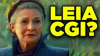 Rise of Skywalker LEIA Explained! VFX Analysis & Final Scene Breakdown!