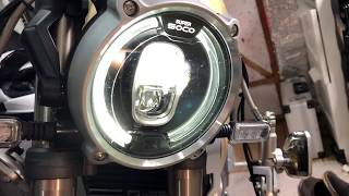 Super Soco Auto Headlight Fix