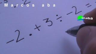 Regra dos sinais - (+ com +) ( - com - ) (+ com - ) - matemática
