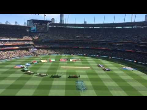 Cricket World Cup 2015 - opening ceremony