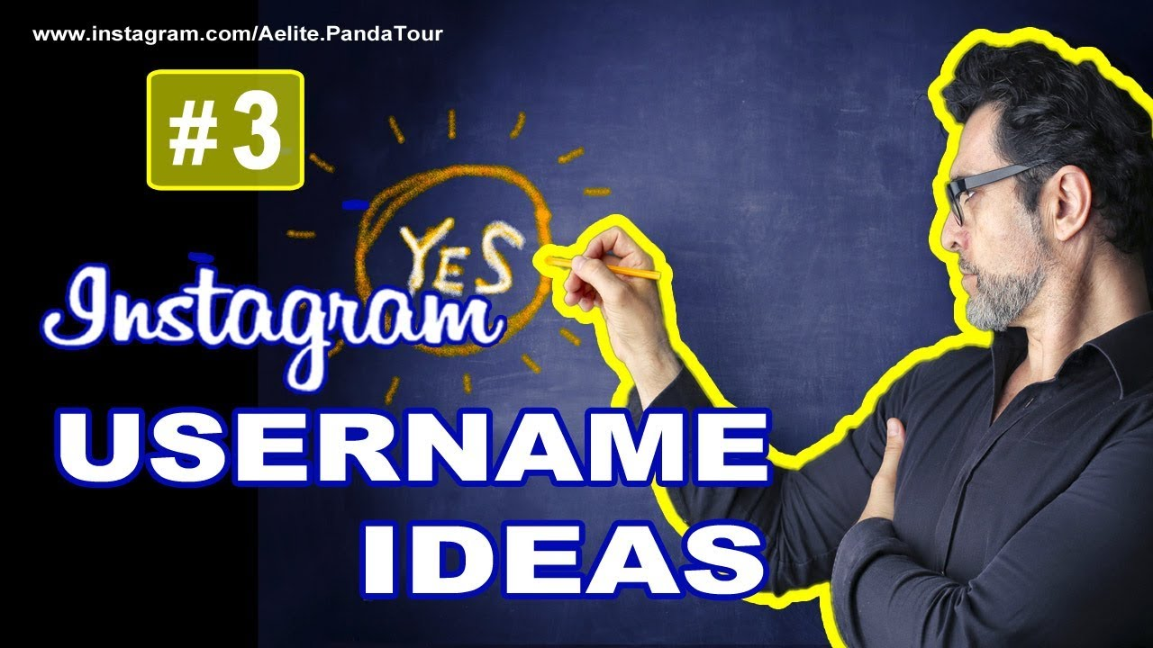 How to find a good instagram username