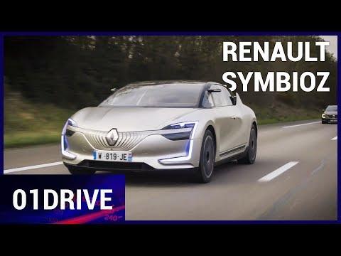 On a roulé à 130 km/h et franchit un péage en voiture autonome Renault Symbioz