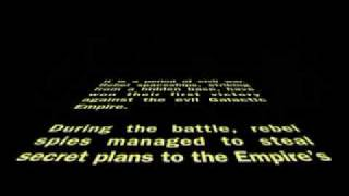 Star Wars original opening crawl - 1977