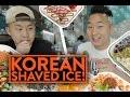 FUNG BROS FOOD: Korean Shaved Snow! (Patbingsu - Shaved Ice)