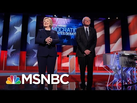 FULL Democratic Debate: Bernie Sanders, Hillary Clinton Face Off In New Hampshire | MSNBC