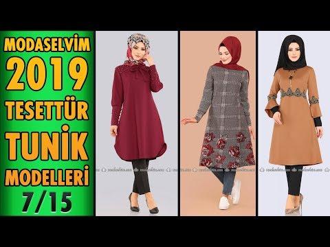 #Modaselvim 2019 Tesettür Tunik Modelleri 7/15 | #Hijab #Tunic | #tesettür #tunik