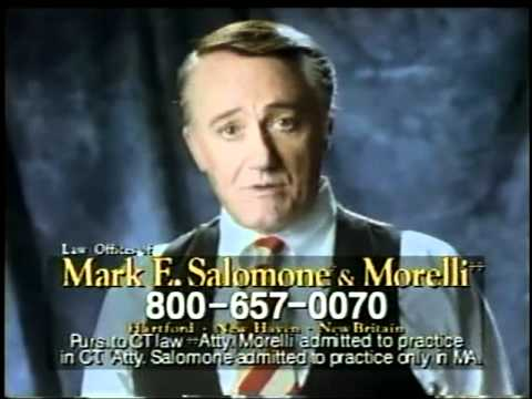 Robert Vaughn lawyer ads & Man from U.N.C.L.E. promo
