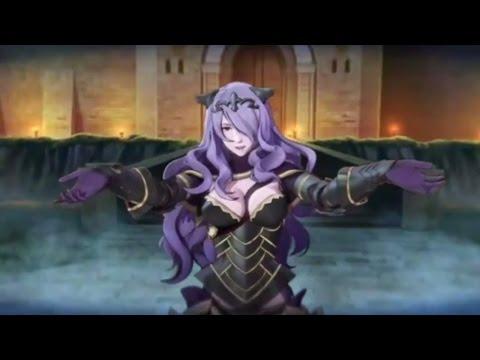 Fire Emblem Fates Cutscene - vs. Camilla (English dub audio)