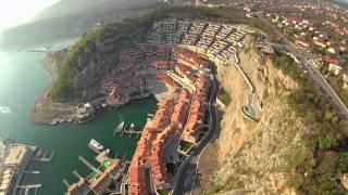 Un volo su Porto Piccolo Trieste