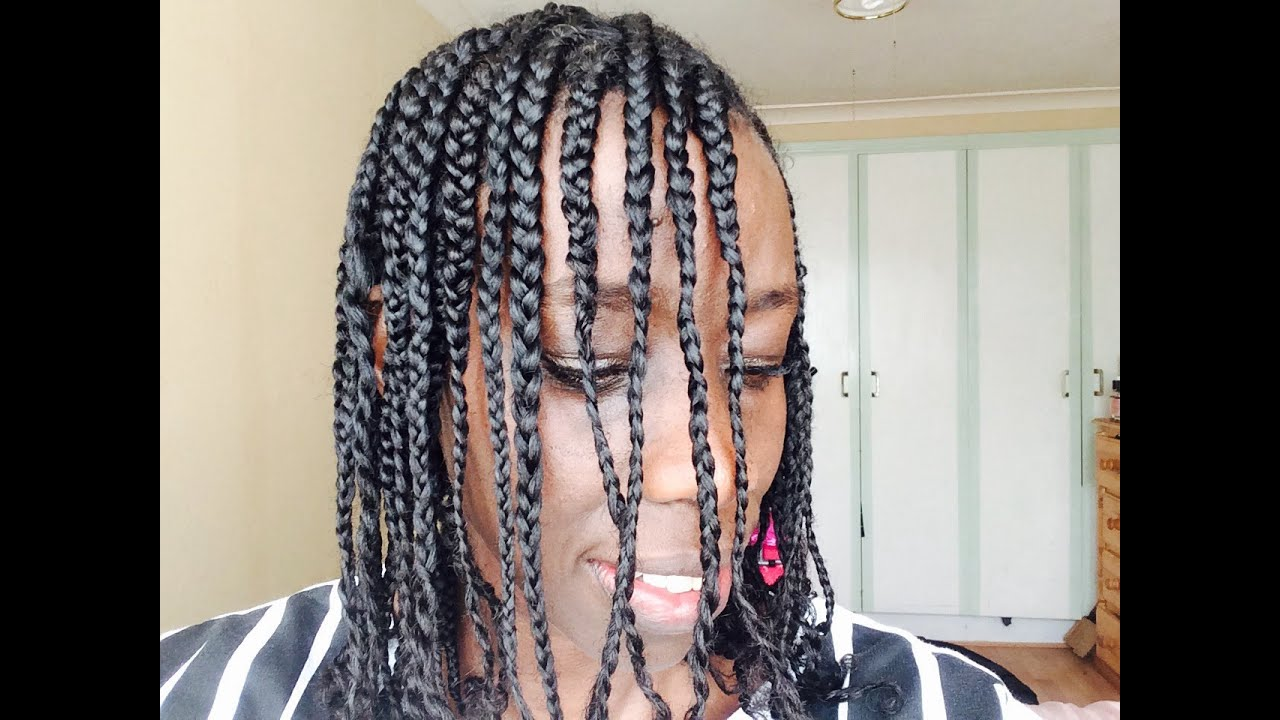 Layed N Slayed Braids No Extensions Youtube