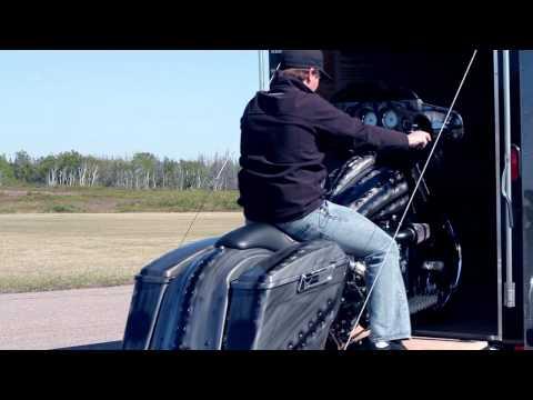 Thunder Glide - custom street glide flhx bagger by Torque Speedshop