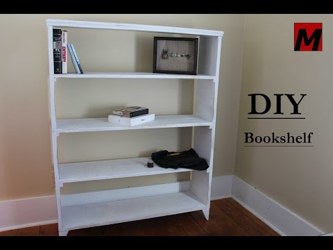 How To Make Bookshelf Diy Hour Build Reclaimed Wood