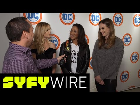 Caity Lotz On AvaLance, Candice Patton On Her Flash Wedding And More  SYFY WIRE