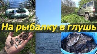 Поездка на старицу реки Сура. На рыбалку в глушь  / Journey to the wild places