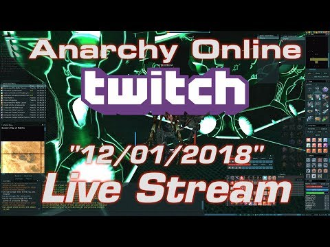 Anarchy Online Live Stream 12/01/2018