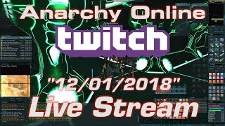 Anarchy Online Live Stream 12/01/2018
