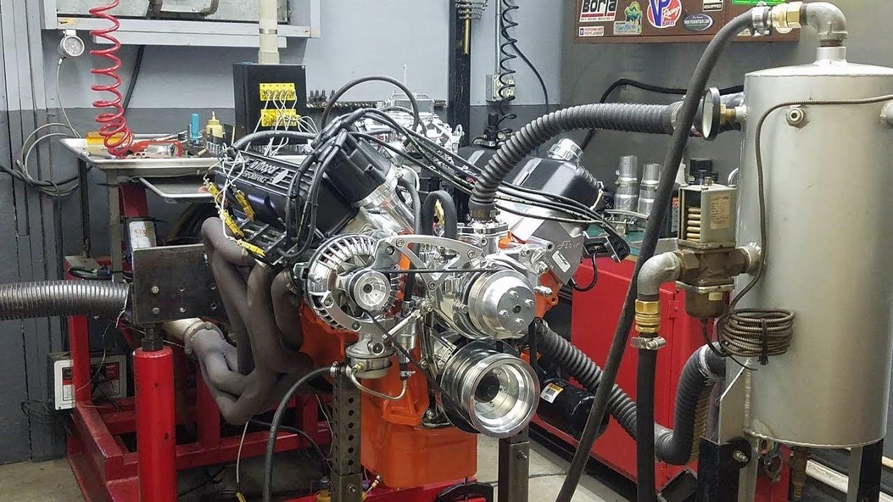 440 Chrysler Mopar Engine Building Part 12 Dyno Test Youtube Distributor Wiring