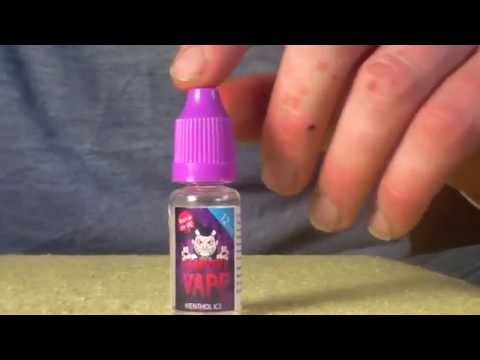 Review of Menthol Ice Vampire Vapes E Liquid