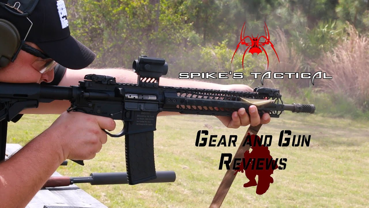 Spikes Tactical Shows of the new D2 Break, the Crusader, and their new  suppressor at Big 3 East 2016