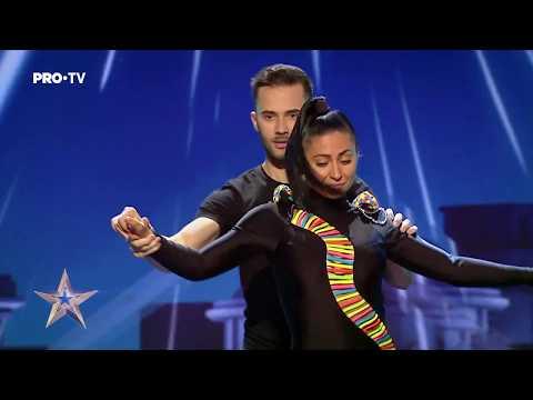 Un dans senzual de bachata | Raluca Burlacu&Cristian Fota - Românii au Talent