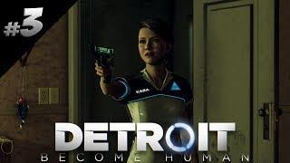 Detroit: Become Human PL #03 - POLEJE SIĘ KREW!
