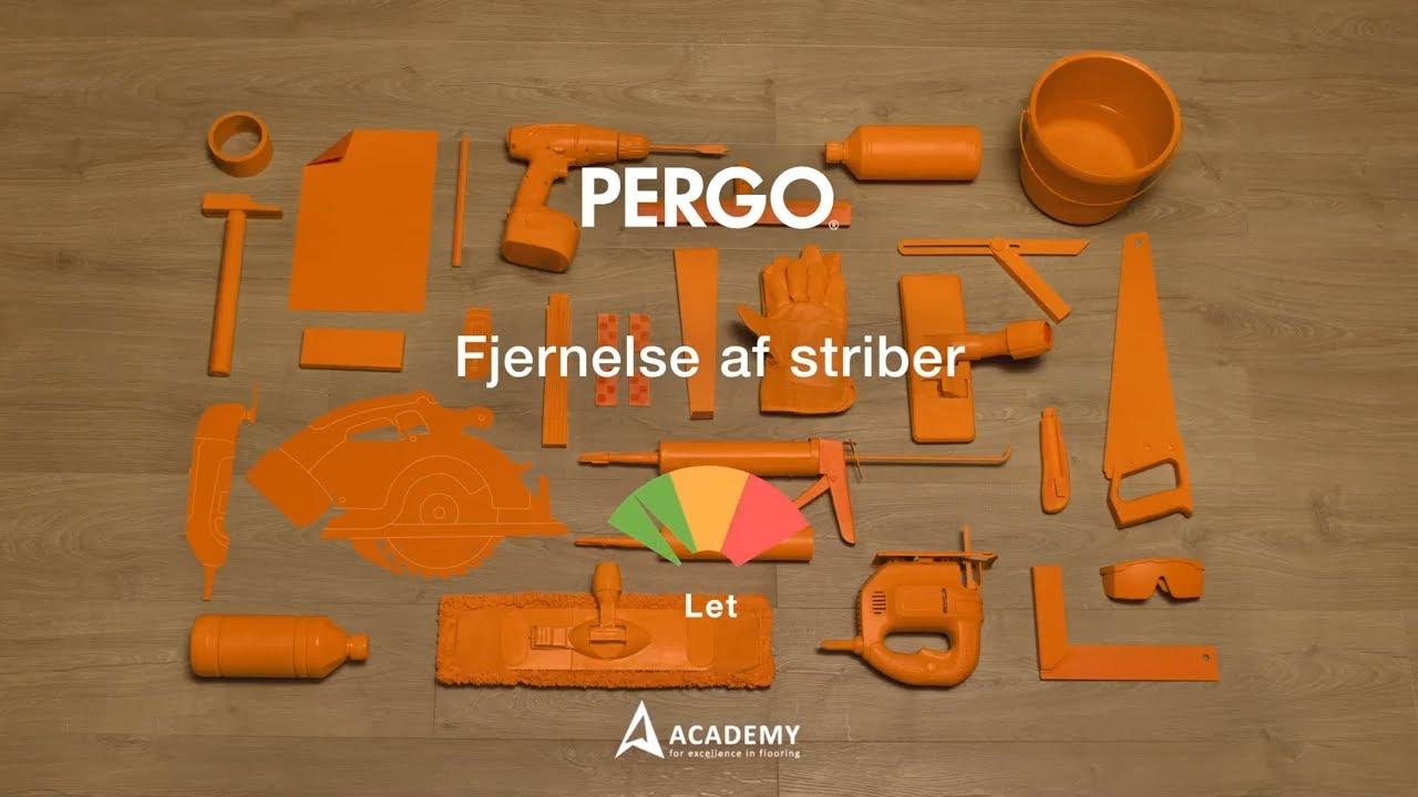 rengøring af pergo gulve