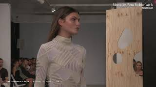 CHRISTOPHER ESBER MERCEDES - BENZ FASHION WEEK AUSTRALIA RESORT '20 COLLECTIONS