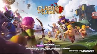 Clash of clans:ataque só com dg e p.e.k.ka