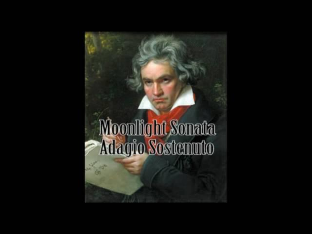 Ludwig van Beethoven - Moonlight Sonata (Adagio Sostenuto)