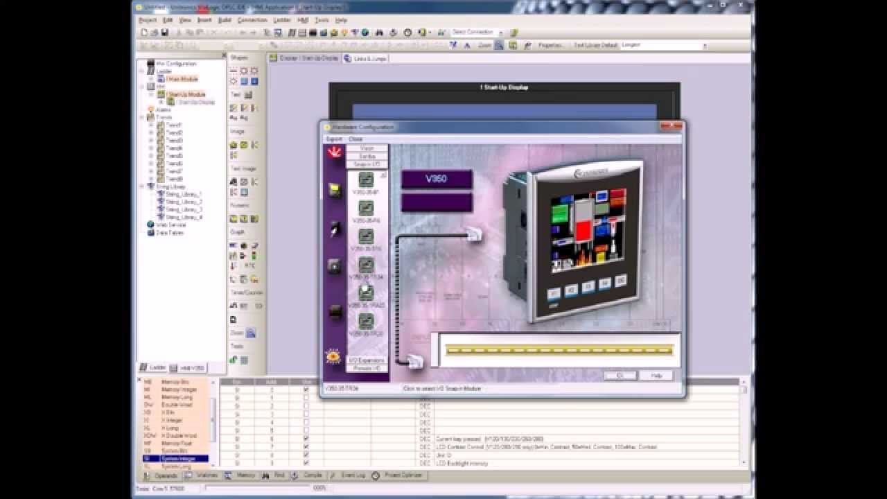 Programmation Visiologic Automate Unitronics V350
