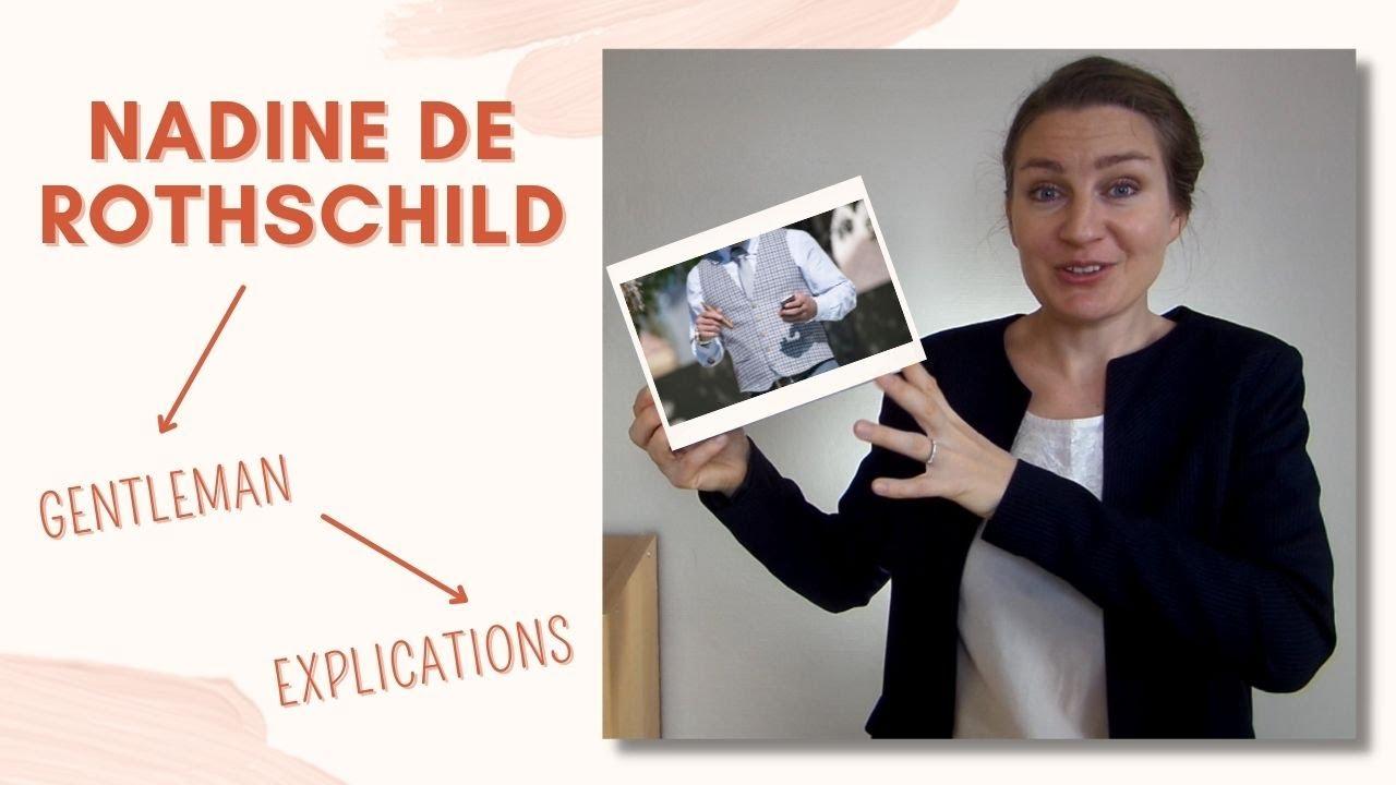 Guide Des Bonnes Manieres Rothschild bonnes manières : la définition du gentleman en 7 points selon nadine de  rothschild