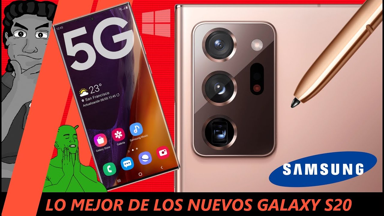 Galaxy S20 / NOTE 20 Ultra - Lo más interesante del Unpacked 2020