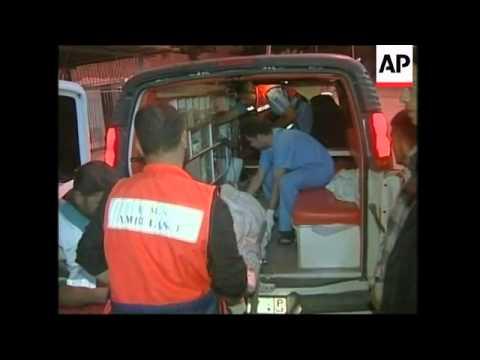 WRAP  Palestinians killed in series of air strikes in Gaza